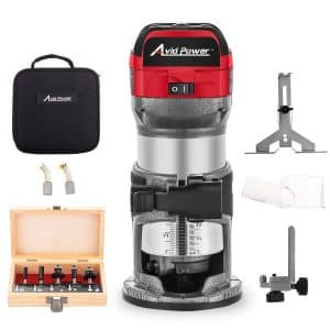 6.5-Amp 1.25 HP Compact Router with Fixed Base