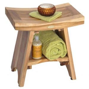 EcoDecors Serenity Shower Stool