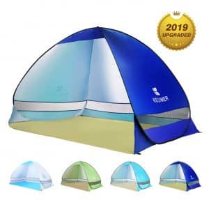 BATTOP Pop Up Sun Shelter Cabana for 2-3 People
