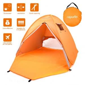 ROPODA Beach Tent, 2-3 Person Capacity with carrying Bag