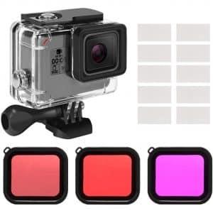 Kupton Housing Case GoPro Filter Kit