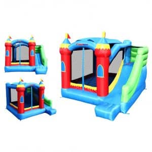 Royal Palace Bounce House with Slide Bouncer
