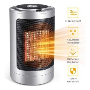 Ffddy Indoor Space Electric Heater