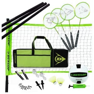 DUNLOP Volleyball Badminton Set