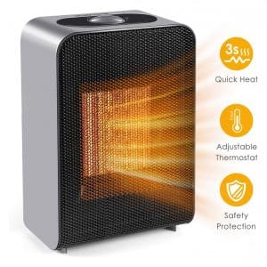 Peach4U Ceramic Electric Space Heater