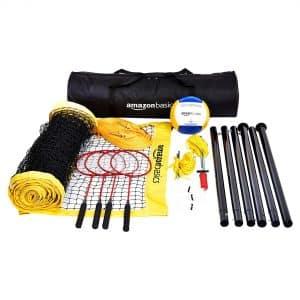AmazonBasics Outdoor Badminton Combo Set