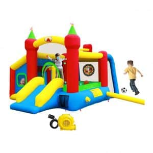 WELLFUNTIME Inflatable Bounce House with Ball Pit