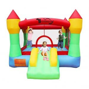 RETRO JUMP Bounce House with Blower