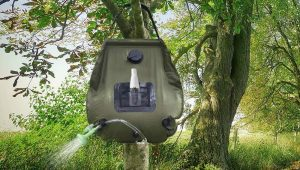 outdoor camping shower
