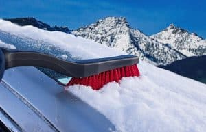 snow brushes for car