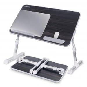 NEARPOW Laptop Bed Tray with Foldable Legs - Medium Size