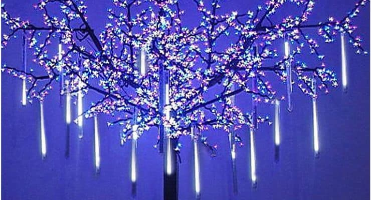 OMGAI LED Meteor Shower Rain Lights