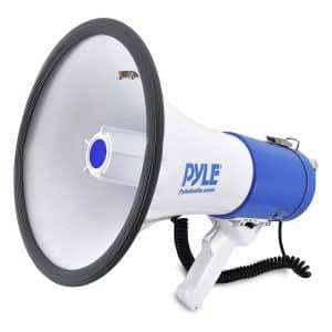 Pyle Megaphone Speaker with Built-in Siren