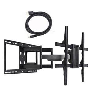 VideoSecu Full Motion Swivel TV Wall Mount