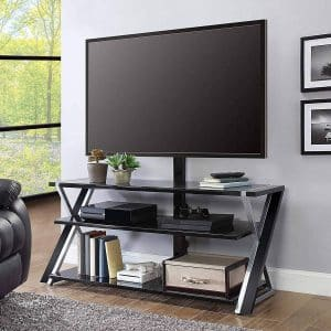 Whalen Furniture 3-in-1 TV-Stand for 70-inches TVs screen