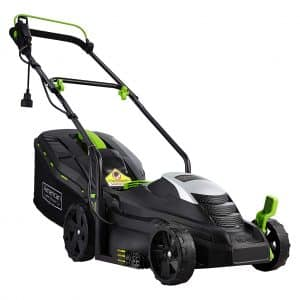 American 50514 11-Amp 14-Inch Corded Electric Mower, Black
