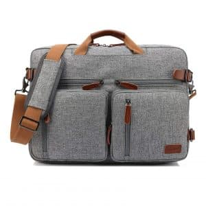 CoolBELL Convertible 17.3-Inch Laptop Backpack Messenger Bag