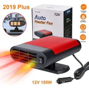LAVIZO Portable Car Heater - Best Winter Gift (Red)