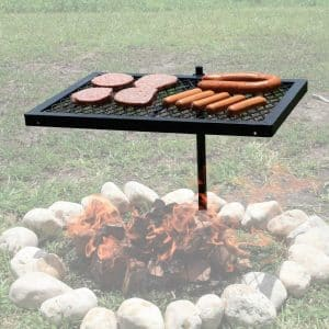 Texsport Heavy Duty Swivel Grill Open Fire