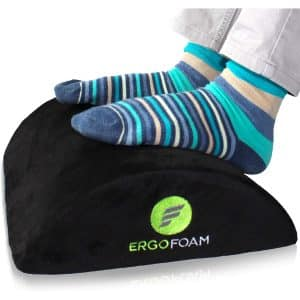 ErgoFoam Ergonomic Footrest Under Desk
