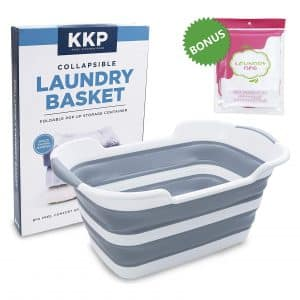 Kool Kitchen Pros Collapsible Laundry Basket