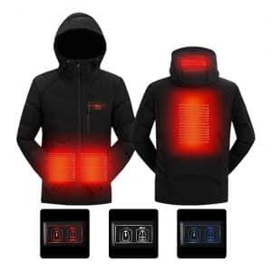 SnowWolf Heated Hooded Jacket