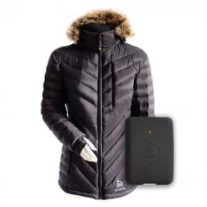 Ravean 100% Down Heated Jacket for Women