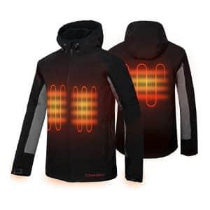 CONQUECO Men's Heated Jacket
