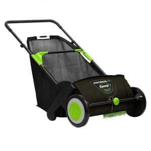 Earthwise LSW70021 21-Inch Leaf & Grass Push Lawn Sweeper, Width