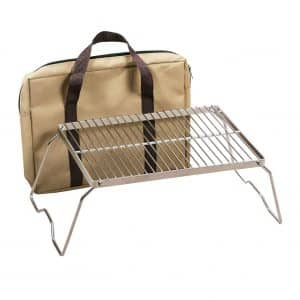 REDCAMP Foldable Campfire Grill with a Carrying Bag