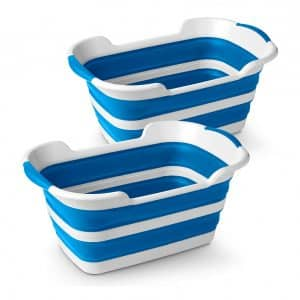 Stylin' Home 2-Pack Collapsible Laundry Basket