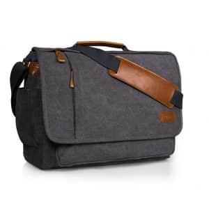 Estarer Water-resistance Canvas Laptop Messenger Bag
