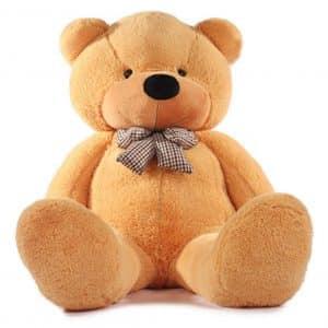Vercart Light Brown Giant Teddy Bear