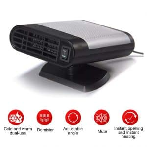 Womdee Portable Car Heater - Defrosts the Windscreen