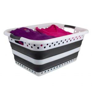 Home Basics Collapsible Laundry Basket