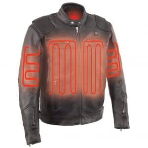 Milwaukee Leather Men's Heated Jacket