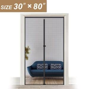 Yotache 30 x 80 Fiberglass Magnetic Screen Door