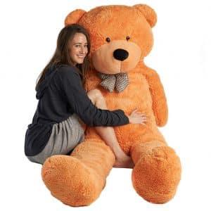 Mr. Bear Cares Giant Stuffed