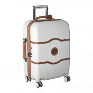 DELSEY Paris Chatelet Carry on Spinner Suitcase