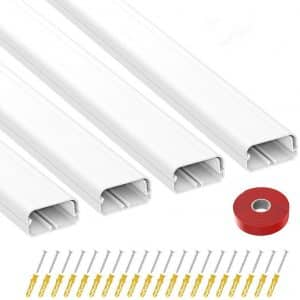 UMTELE TV Cord Concealer for Wall Mounted TV