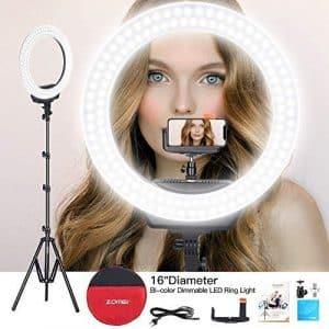 """ZOMEi 16"""" selfie Ring Led Light"""