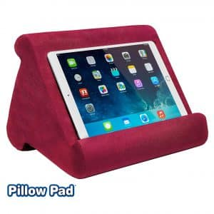 Ontel Pillow Pad Multi-Angle Soft Tablet Stand - Lightweight and travel friendly