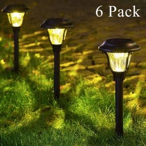 GIGALUMI Solar Pathway and Garden Lights