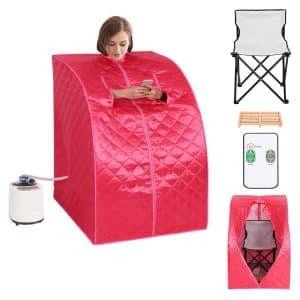 Giantex Portable 2L Steam Sauna