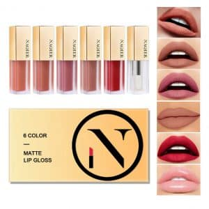 NAQIER Matte Velvety Lip gloss Set