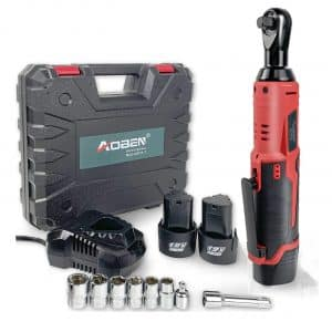 Cordless Electric Ratchet Wrench Set