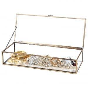 Vintage Style Jewelry Box Organizer