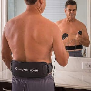 Living Well With Montel Vibrating LED Massage Belt