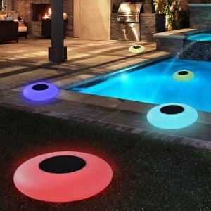 Blibly Solar Floating Swimming Pool Lights Outdoor Garden Lights