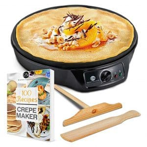 G&M Kitchen Essentials Crepe and Pancake Maker